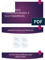 Penicilinas, Cefalosporinas e Sulfonamidas