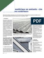 Dépose Des Matériaux en Amiante - Ciment