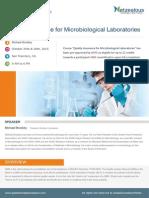Quality Assurance Microbiological Laboratories San Diego