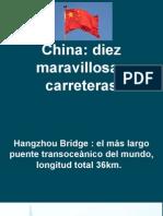 Carreteras de China.pps
