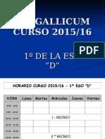 Ies Gallicum Presentacion Alumnos