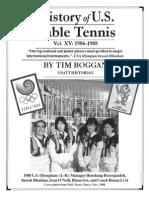 History of U.S. Table Tennis - Vol. XV
