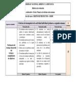 Rubrica Diseno de Proyectos 2015-I