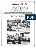 History of U.S. Table Tennis - Vol. XII