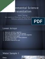 environmental science presentation
