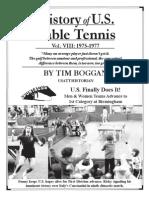 History of U.S. Table Tennis - Vol. VIII