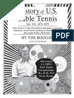 History of U.S. Table Tennis - Vol. VII
