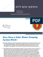 Irrigation With PV Systems