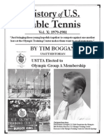 History of U.S. Table Tennis - Vol. X