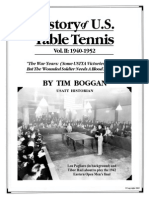 History of U.S. Table Tennis - Vol. II