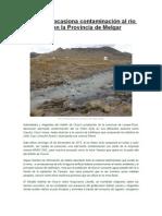 Contaminacion Llallimayo Fuente El Altiplano