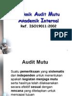 Teknik Audit (Prof. Purwanto)