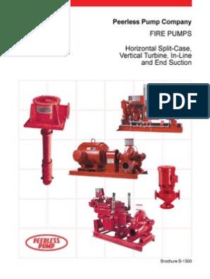 Peerless Fire Pump | Engines | Diesel Engine