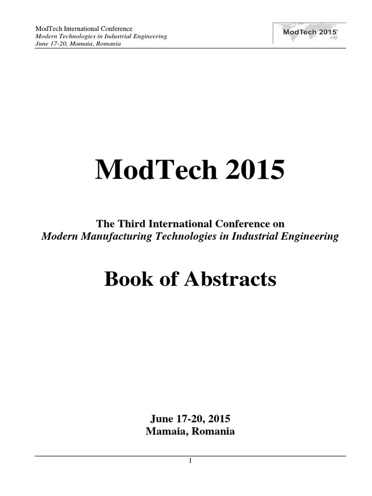 Modtech2015 Program Book Of Abstracts Composite Material Friction Model Train Dcc Moreover Wiring Railroad Turnouts Furthermore