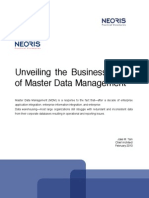 Unveiling the Business Value of MDM