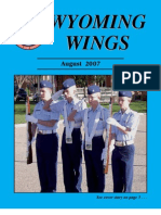 Wyoming Wings Magazine, August 2007