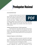 Pendapatan Nasional Makro Ekonomi
