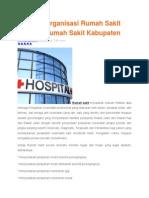 Struktur Organisasi Rumah Sakit Tipe C