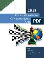 Briceno - 8° Campeonato Continental Absoluto de América (2013)