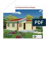 49 Sq Mtr Prefabricated House Design