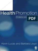 PROMOTION.health Promotion-Evidence and Experience_2005