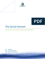 Social Intranet Whitepaper Prescient Digital Feb2012