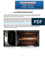 Gasket Surface Cleaning (Gasket Surface Cleaning)