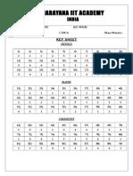 10 01 15_sr.iit z (Iz) Co Spark_jee Main_ctm 6_key & Solutions