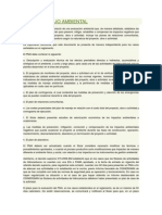 Plan de Manejo Ambiental Matriz de Leopold