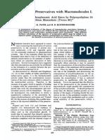 Parabenzoic Ester Binding