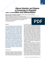 Complex N-Glycan Number and Degree