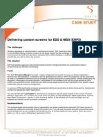 Custom Screens for ep ess
