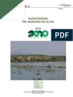 2010 Biodiversidad Del Municipio de Elche Parte I