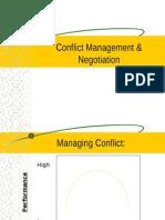 Conflict Management Constructively