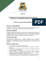 Reglamento Interno de Funcionamiento Grupo de Trabajo Final