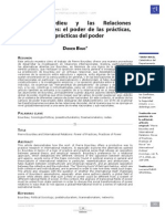 Pierre Bourdieu y Las Relaciones Internacionales El Poder de Las Prácticas, Las Prácticas Del Poder
