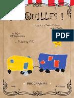 Programme Arsouilles du 25 au 27 septembre 2015