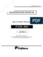 Fujikura FSM40S Service Manual LEVEL 2