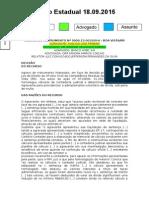 Diário Estadual 18.09.2015