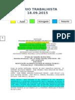 Diário Trabalhista 18.09.2015