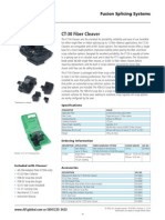 CT-30A fiber cleaver