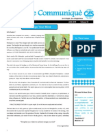 The Communique- Aug 2015 Edition