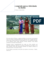 O Sombrio Segredo Para a Felicidade No Butão