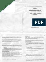 Cours Economie Générale S1 2009-2010