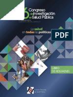 Libro de Resúmenes CONGISP 2015