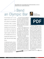 How to Bend an Olympic Bar 2012