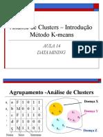 Analise de Clusters