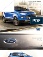 Catalogo Nuevo Ford EcoSport