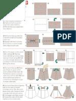 Origami Dress Diagram