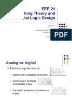 2 Analog vs Digital; Number Systems